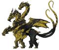 Concept Art - Godzilla Final Wars - Keizer Ghidorah 3