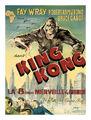Belgian King Kong 1933 Poster