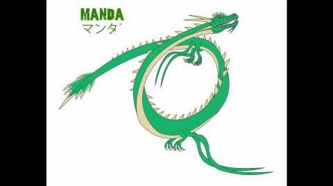 Godzilla Endgame Manda
