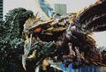 GXM - Megaguirus Bites Godzilla