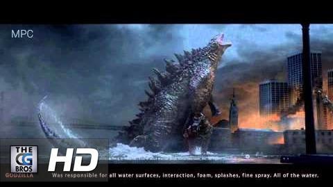 """CGI & VFX Showreels """"Godzilla VFX Shots"""" - by Jonathan Freisler"""