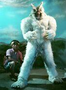 Wolfman Striking a Pose