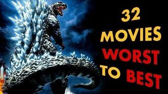 Every Godzilla Movie Ranked From Worst To Best