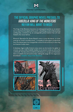 Godzilla Aftershock (back cover)