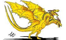 Neo Daikaiju KING GHIDORAH by Dino master