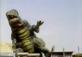 Go! Godman - Episode 6 Godman vs. Gorosaurus - 8 - Time to pursue my career in sumo wrestling