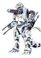 Concept Art - Godzilla Against MechaGodzilla - Kiryu 55