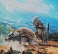 DAM - Anguirus and Gorosaurus
