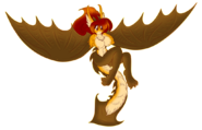 Kaiju harpy ally by akuoreo-d6aww9r