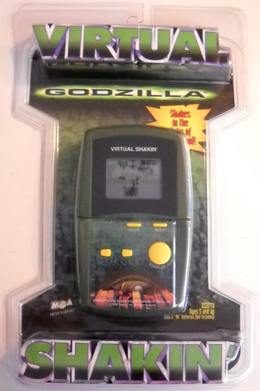 Godzilla Virtual Shakin