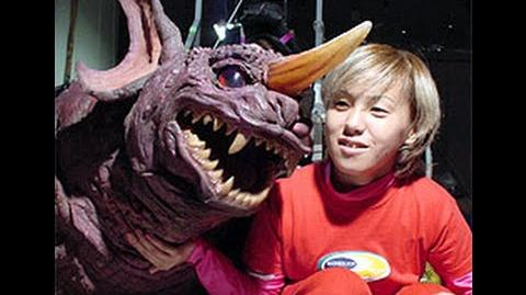 Rie Ota as Baragon in GMK
