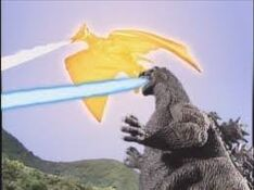 Godzilla y Fire Rodan vs Neo hedorah