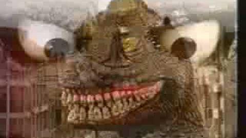 Funny Godzilla Ad