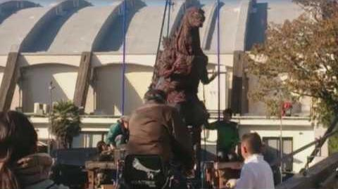Shin Godzilla - Unused Puppet Filming Snippet