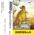 Godzilla Commodore 16 Cassette Cover