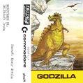 Godzilla Commodore 16 Cassette Cover