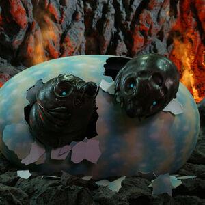 Godzilla.jp - Mothra Larva 2003