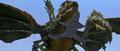 Godzilla vs. Megaguirus - Megaguirus over Griffon
