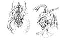 Concept Art - Godzilla 2000 Millennium - Orga 40
