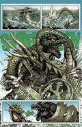 Godzilla vs Manda en Rulers of Earth edicion 9