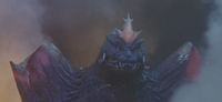 SpaceGodzilla's destroyed shoulder crystals
