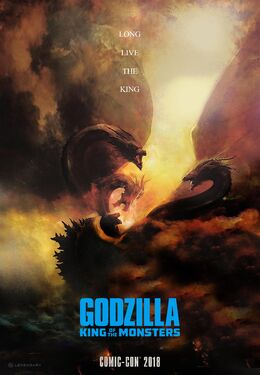 Godzilla King of the Monsters - SDCC poster official
