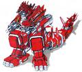 Concept Art - Godzilla vs. MechaGodzilla 2 - MechaGodzilla 1