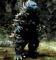 Godzilla vs. Megaguirus - Godzilla is swarmed by Meganula