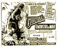 Gojira Poster Brazil 1