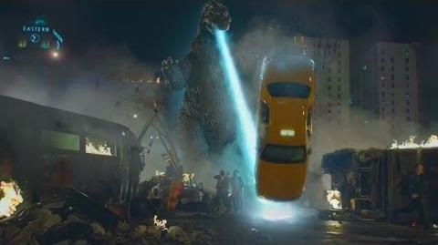 Godzilla SNICKERS commercial
