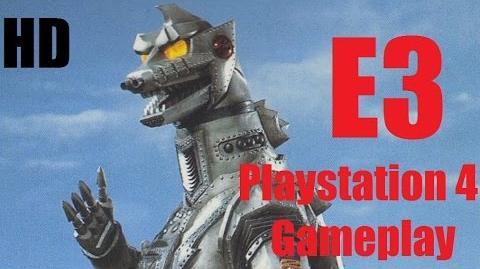 Godzilla The Game MechaGodzilla 1974 vs Anguirus and SpaceGodzilla vs Rodan E3 Gameplay PS4 HD
