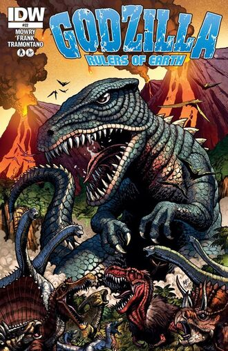 RULERS OF EARTH Issue 22 CVR A