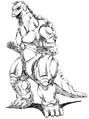 Concept Art - Godzilla vs. MechaGodzilla 2 - MechaGodzilla 11