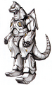 Concept Art - Godzilla Against MechaGodzilla - Kiryu 4
