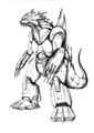 Concept Art - Godzilla Against MechaGodzilla - Kiryu 49