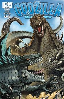 Godzilla Rulers of Earth edicion -2 Showdown