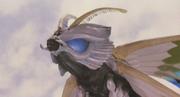 Aqua Mothra Above Water