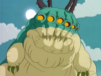 Godzilla The Series - Monsters - El Gusano Gigante