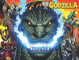 Godzilla rulers of earth cover 1 by kaijusamurai-d5xwymt