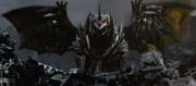 Monster X wird Keizer Ghidorah