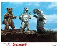 Godzilla vs. MechaGodzilla Lobby Card Japan 1