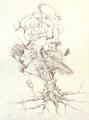 Concept Art - Godzilla vs. Biollante - Biollante Rose 11