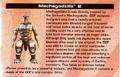 Mechagodzilla 2 Unleashed manual
