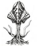 Concept Art - Godzilla 2000 Millennium - Millennian 1
