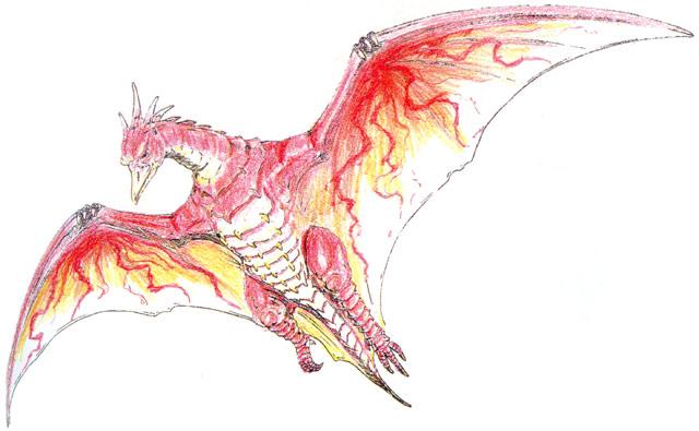 File:Concept Art - Godzilla vs. MechaGodzilla 2 - Fire Rodan 2.png
