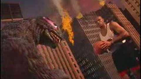 Nike Commercial 'Godzilla vs Charles Barkley'