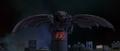 Godzilla vs. Megaguirus - Megaguirus rests atop the Shiesta 109 building