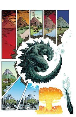 Godzilla Awakening - Godzilla Hibernating