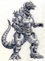Concept Art - Godzilla Tokyo SOS - Kiryu 1