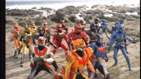 超星艦隊 セイザーX 戦え!星の戦士たち 予告編